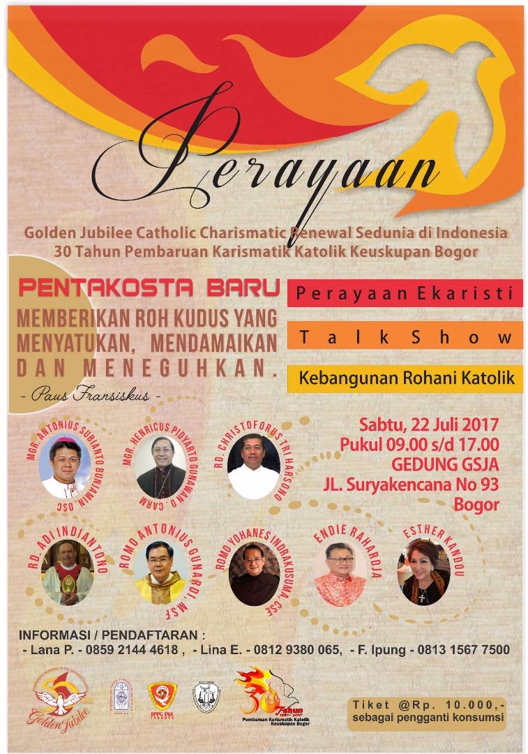 Perayaan 50 Tahun PKK Sedunia & 30 Tahun PKK Keuskupan Bogor