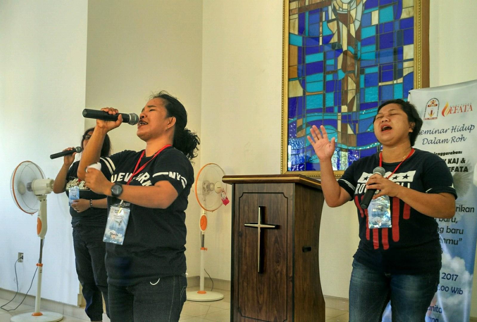 Seminar Hidup Dalam Roh Di Lapas Wanita Tangerang