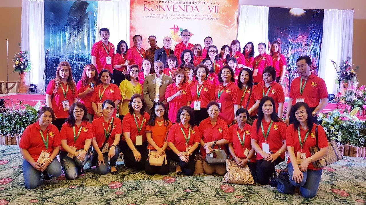 KONVENDA VII REGIO MAM (MAKASAR, AMBON, MANADO) – Manado, 8-10 September 2017