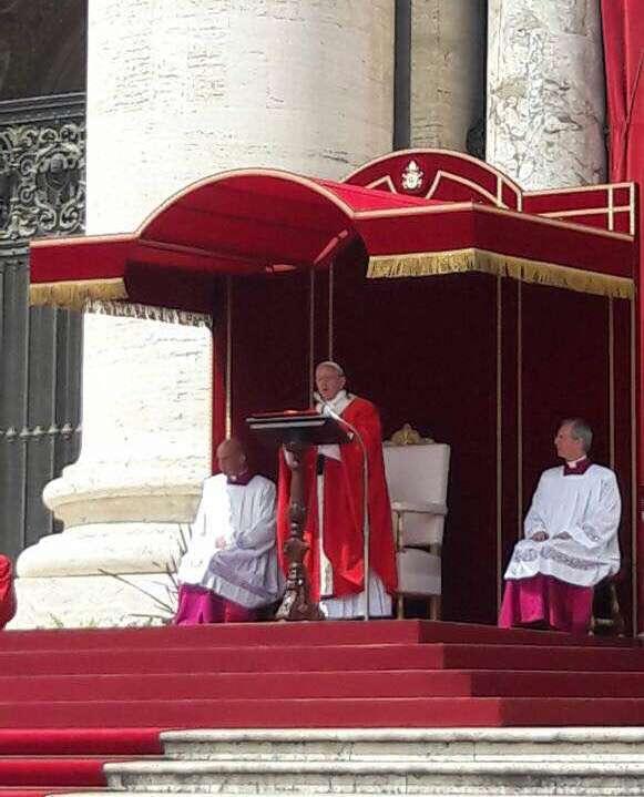 Homili Paus Fransiskus Dalam Misa Hari Raya Pentakosta, Minggu 4 Juni 2017