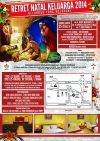 Retret Natal Keluarga ( Depok, 25 - 27 Desember 2014)