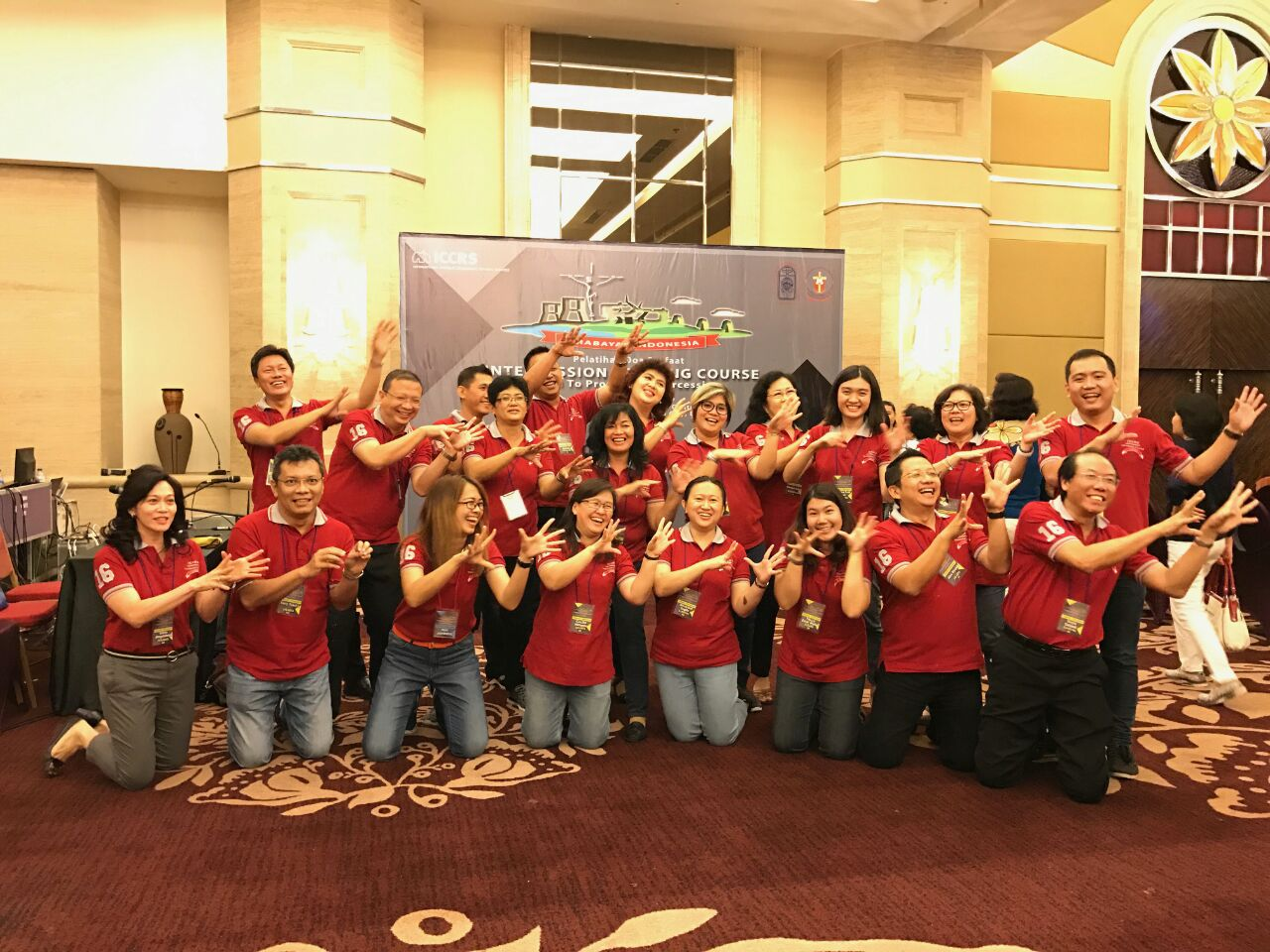 Intercession Training Course · Indonesia, Surabaya 2016