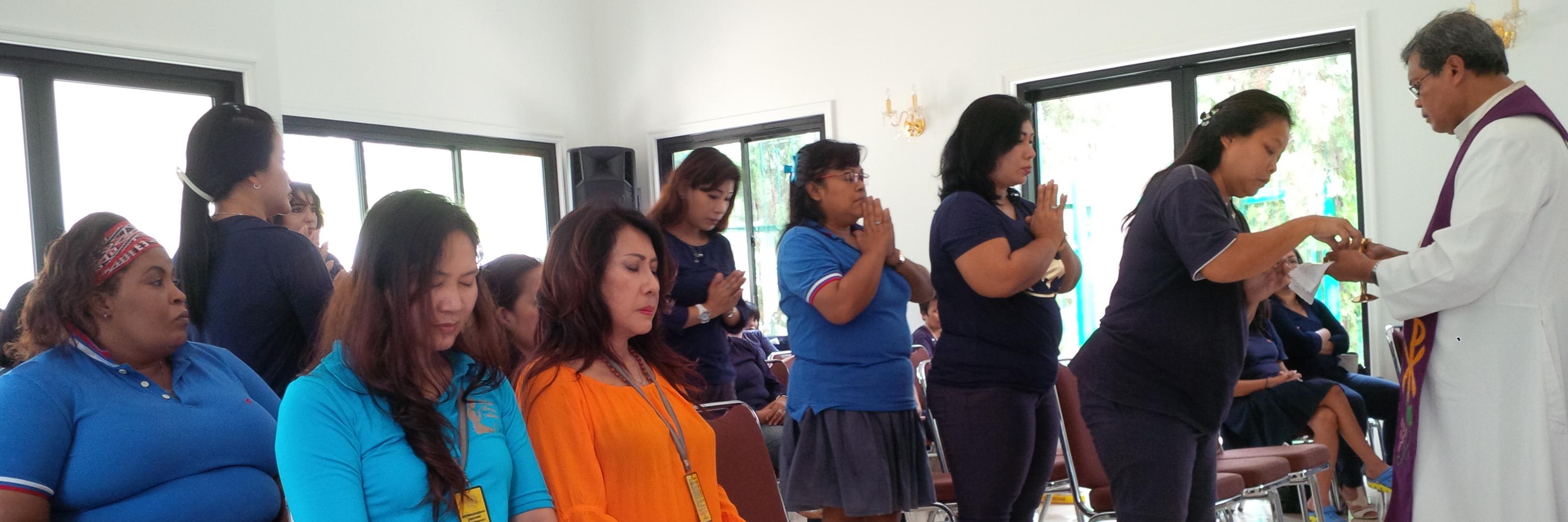 Misa Adven 1 @LP Wanita Tangerang