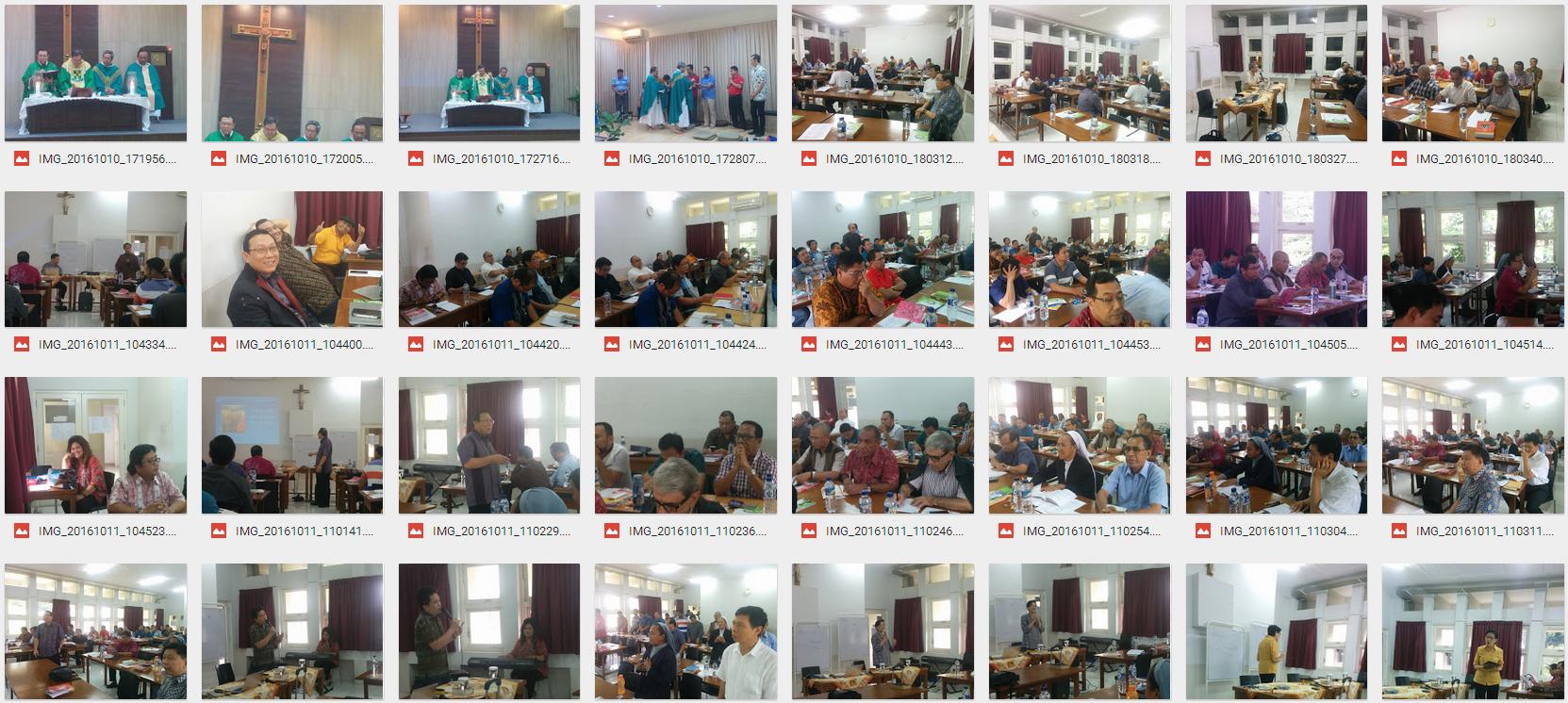 Foto TOT Para Imam dan Suster (Jakarta; 10-13 Okt 2016)