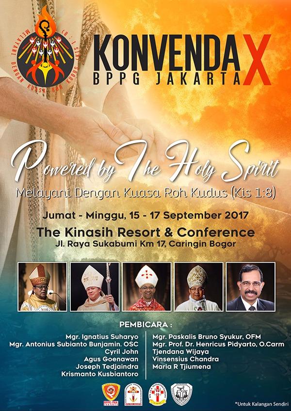 Konvenda X BPPG Jakarta 2017